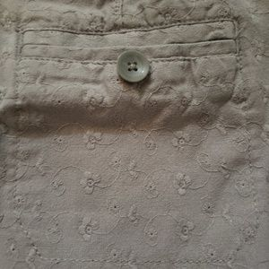 Old Navy Skirts - Grey Jean mini skirt